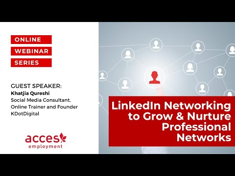 LinkedIn Networking to Grow & Nurture Professional Networks in Canada