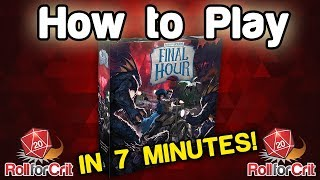 How to Play Arkham Horror: Final Hour