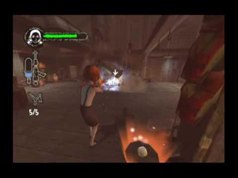 Monster House Movie Game Walkthrough Part 4:2 (GameCube