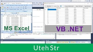 Visual Basic .Net | Export DataGridView to Excel and Import Excel to DataGridView with VB .NET