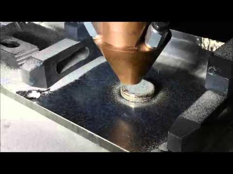 Titanium 6-4 Metal 3D Printing (Laser Metal Deposition - LMD)