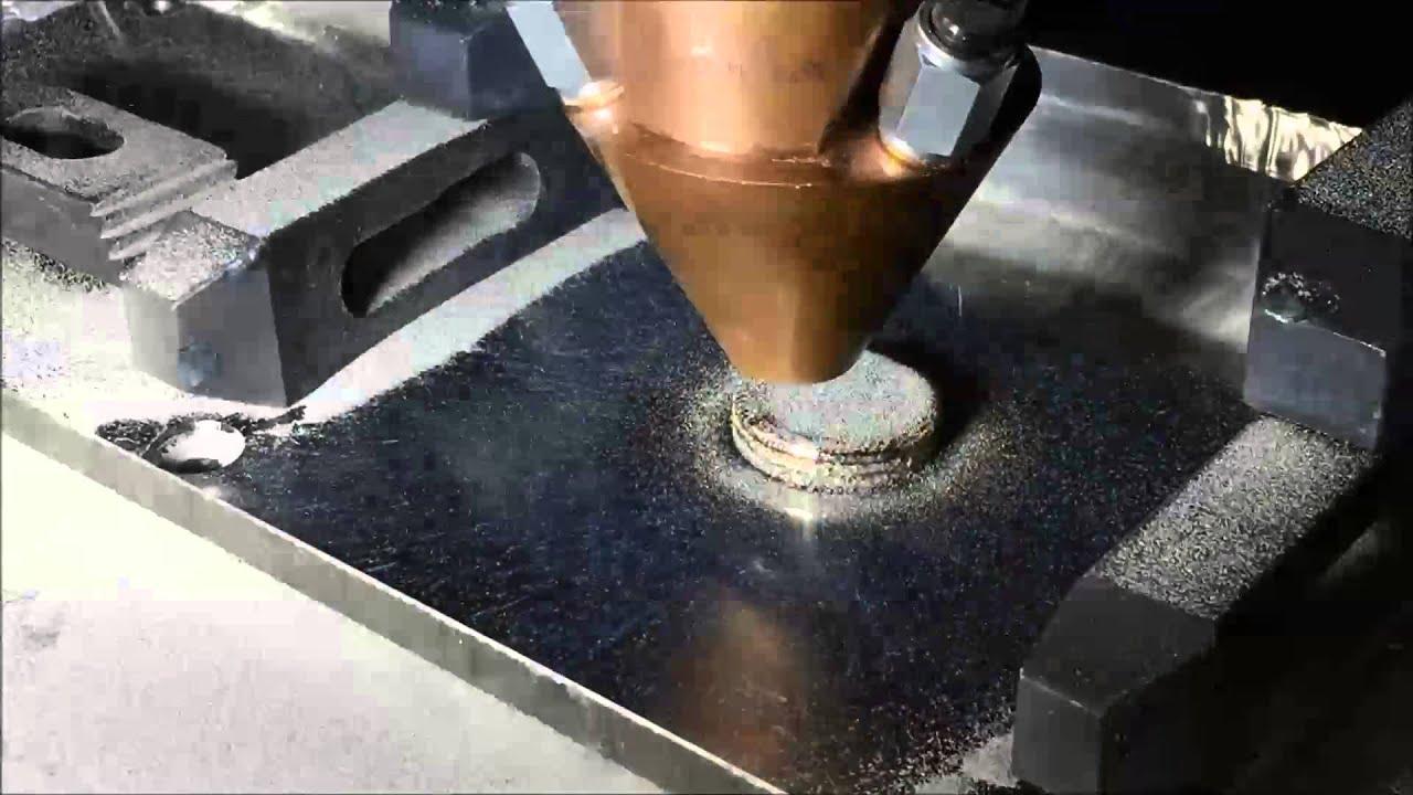 3d Metal Printing >> Titanium 6 4 Metal 3d Printing Laser Metal Deposition Lmd Youtube