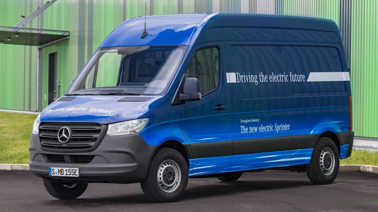 The brand new 2019 sprinter electric van from mercedes for New electric mercedes benz