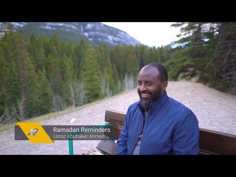Ustaz Abubaker Ahmed Ramadan Reminders 2019