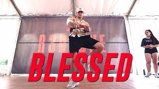 "Shenseea x Tyga ""BLESSED"" Choreography by Daniel Krichenbaum"