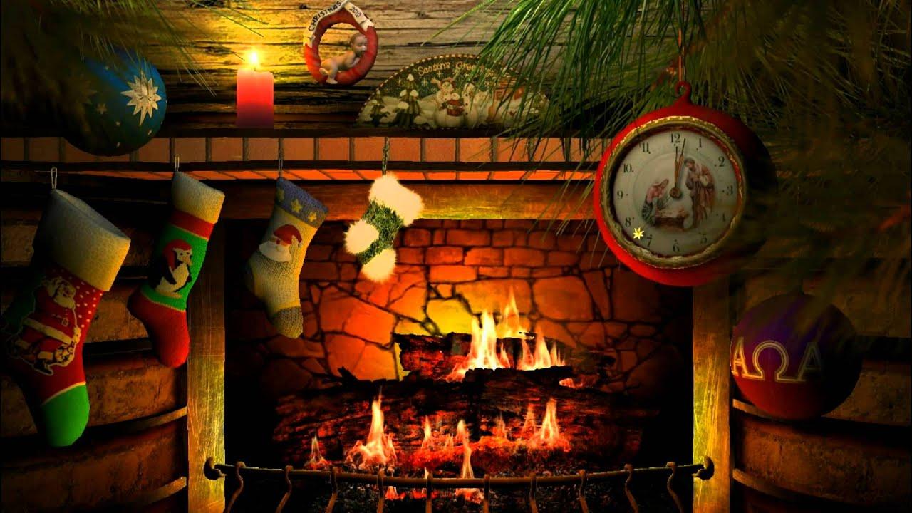 3planesoft Premium 3d Screensaver Fireside Christmas