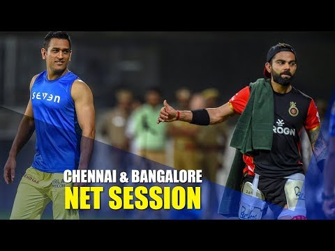 Chennai, Bangalore hit the nets ahead of Indian T20 League season-opener