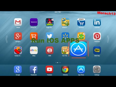 how to play ipad apps on pc