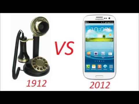 The Evolution of the Telephone (1910 - 2010) .. then the future!