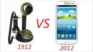 Video The Evolution of the Telephone (1910 - 2010) ...and then the future! download MP3, 3GP, MP4, WEBM, AVI, FLV Januari 2018