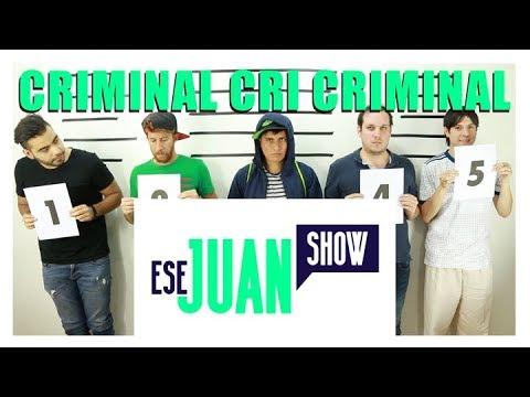 CRIMINAL AMERICANISTA  ESEJUANSHOW