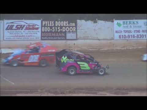600 Sportsman Modified Feature from Shellhammers Speedway 7/14/2018