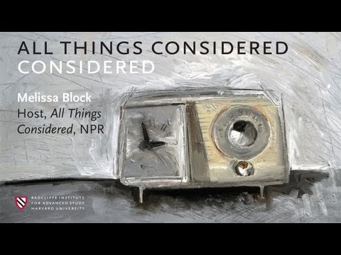 """All Things Considered"" Considered 
