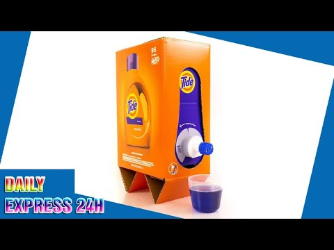 Eric Paulsen - Does this Tide detergent package look like boxed wine to you?