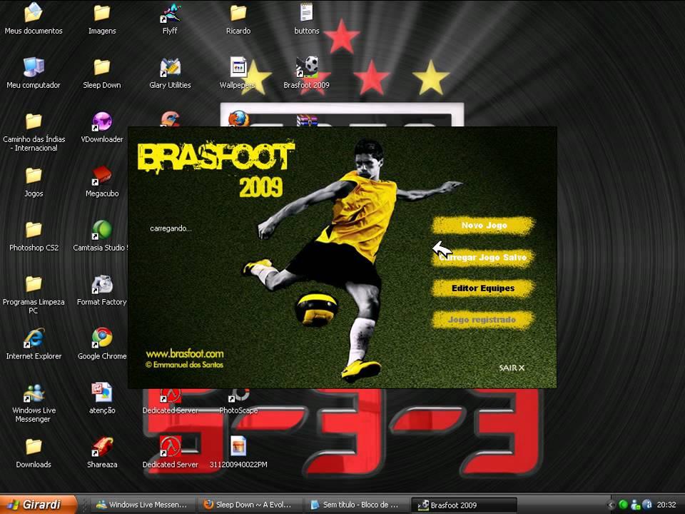 BRASFOOT 2009 COM REGISTRO BAIXAR