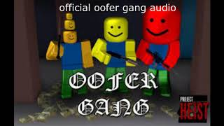 oofer gang (roblox parody of gucci gang and im screaming the lyrics)