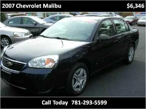 2007 Chevrolet Malibu available from RT 14 Motors, LLC