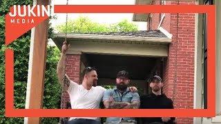 Three Guys Accidentally Break Porch Swing