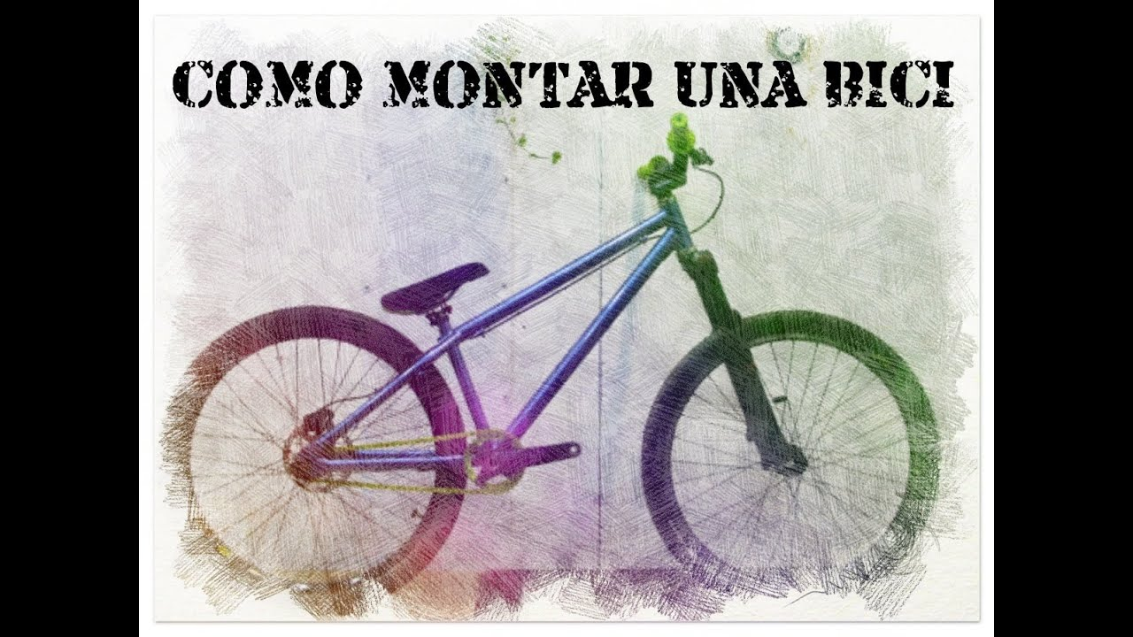 Cómo montar una bici (NS Bikes Suburban) - YouTube