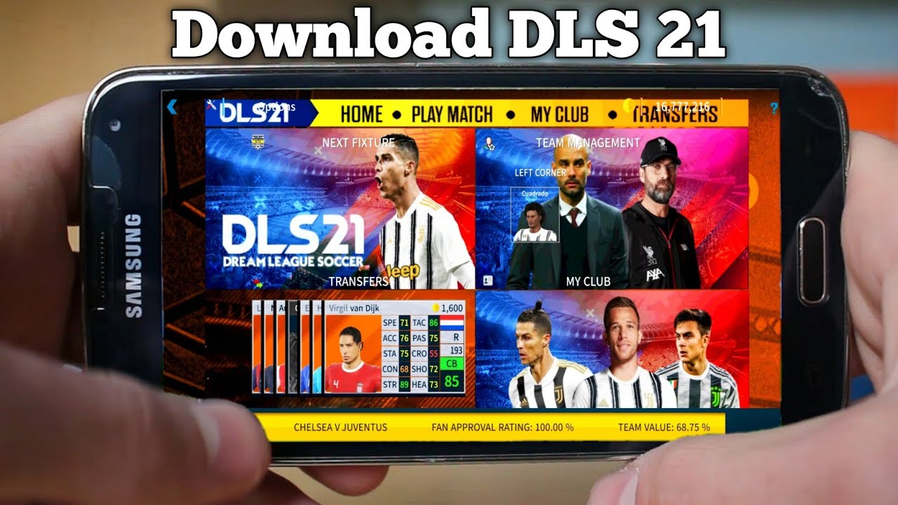 Dream League Soccer 21 Download For Android (Apk+Data+Obb) । DLS 21 Download For Android