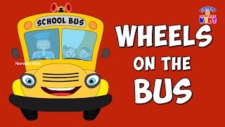 The Wheels On The Bus Go Round And Round Song ★ ABC Song For Kid ★ Nursery Rhyme for Children
