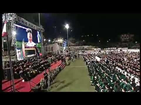 AUB 146th Commencement Exercises 2015 - Graduate and Honorary Doctorates Ceremony