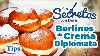 Berlines con Crema Diplomata