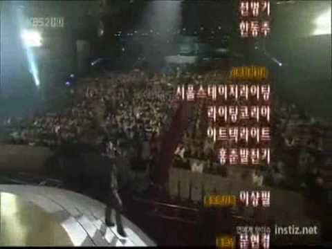 [ 2PM ] Taecyeon said 'This is for Jay Park' @ KBS Gayo Daejun.wmv