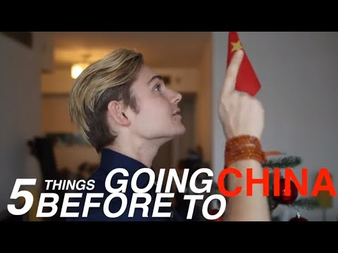 5 things to do before traveling to China