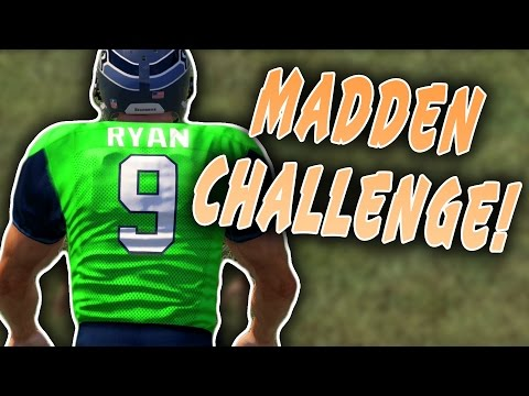 Jon Ryan QB SACK! - Punters and Kickers QB Sack Competition! Madden 16 NFL Challenge