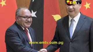 Chinese President visit expected to cement ties between China and PNG