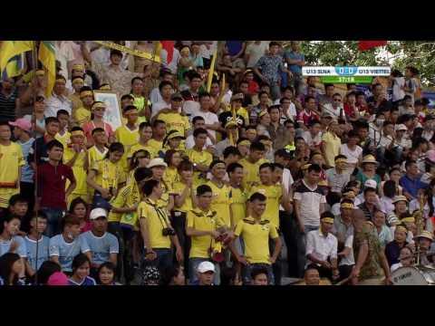 Chung kết U13 Viettel vs U13 Sông Lam Nghệ An 2016-Hiệp 2