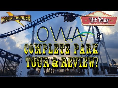 First Look: The Park At OWA Foley, Alabama GRAND OPENING COMPLETE PARK TOUR & REVIEW 2017!