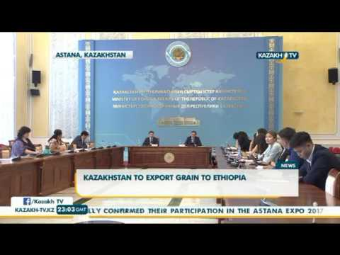 Kazakhstan to export grain to Ethiopia - Kazakh TV