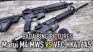 Marui M4 MWS vs VFC HK416A5: Which GBBR is best?