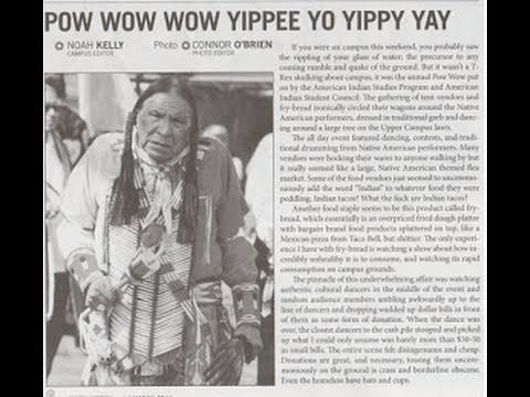 Student Newspaper Apologizes For Editorial On Native Americans