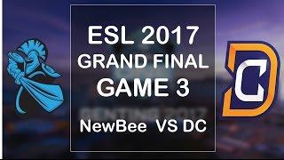 Video Grand Final [Highlights] DC vs Newbee Game 3 - ESL ONE GENTING 2017 download MP3, 3GP, MP4, WEBM, AVI, FLV Maret 2018