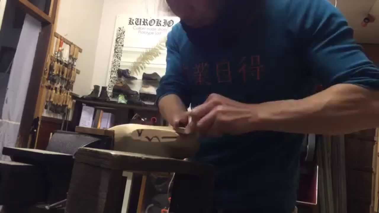 How to make a shoe last 2/2 木型の作り方2/2 Last making 2/2 KUROKIO