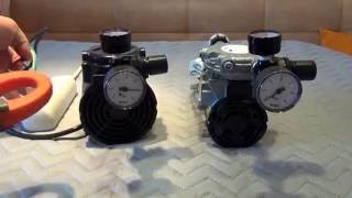 Порівняння компресора LP 12 і AP 2