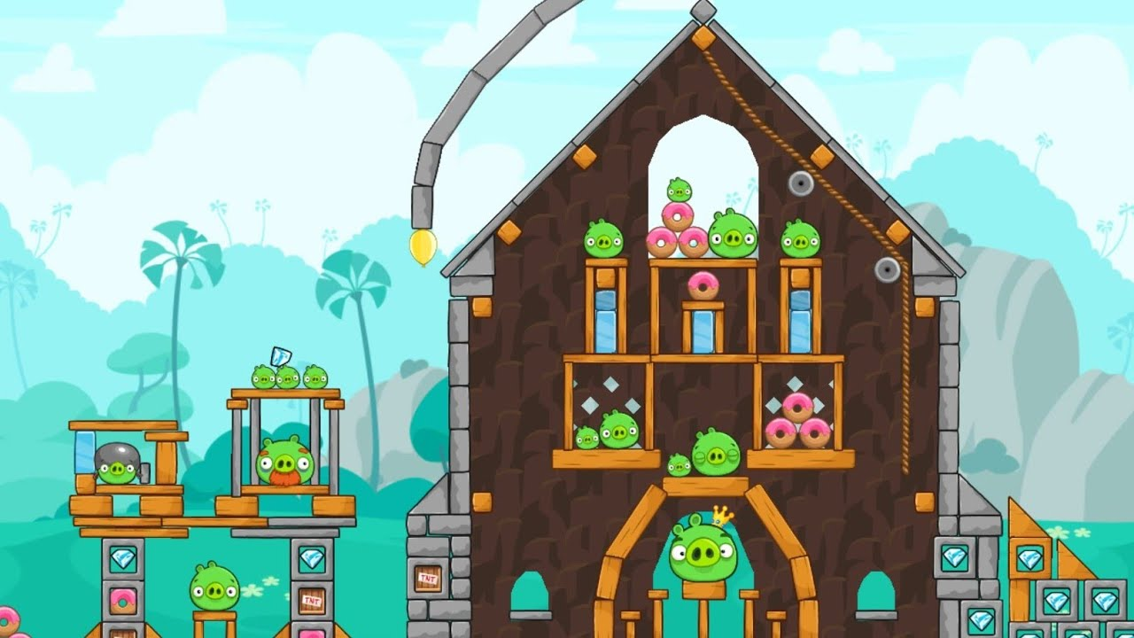 Angry Birds Friends Tournament 721 - Levels 1, 2, 3, 4, 5, 6 - 3 stars walkthrough with Power-Ups