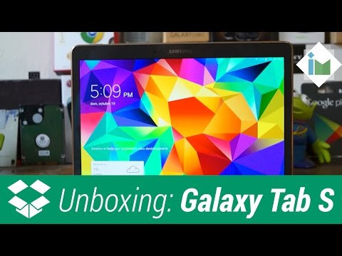 Samsung Galaxy Tab S 10.5 - Unboxing en español