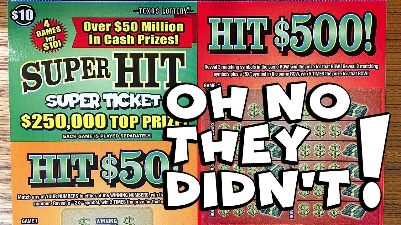 NEW TICKETS! What?? 2X $10 Super Hit Super Ticket ✦ TEXAS LOTTERY SCRATCH  OFF TICKETS