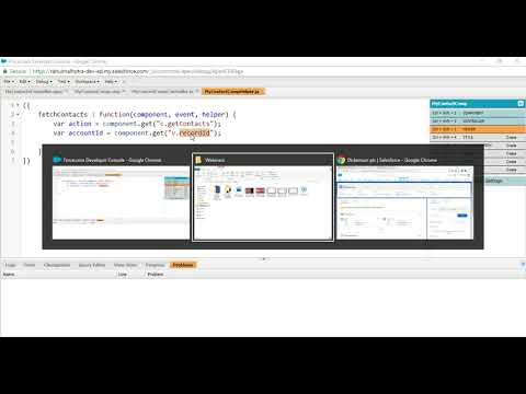 Salesforce Lightning Tutorial - Part 1 | Fetch and display data from server