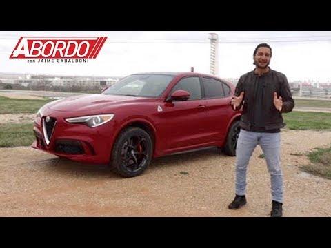 Alfa Romeo Stelvio Quadrifoglio 2018   Prueba A Bordo Completa