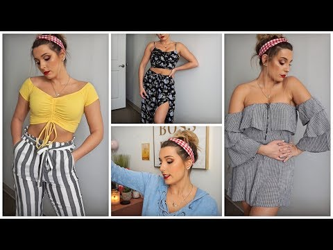 American Eagle Spring Collection Clothing Haul   Size 4 Girls