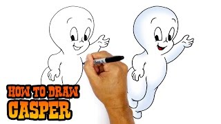 How to Draw Casper | Drawing Lesson
