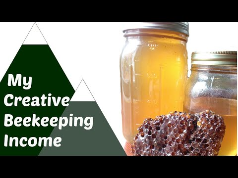 How I make money from bees. Creative Beekeeping Income on Homestead. Mp3
