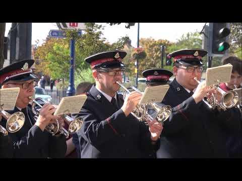 Felixstowe Salvation Army Band and The International Staff Band.