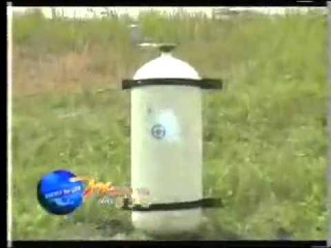 การทดสอบถังบรรจุก๊าซ NGV