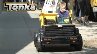 Tonka Dump Truck Ride-On from Dynacraft